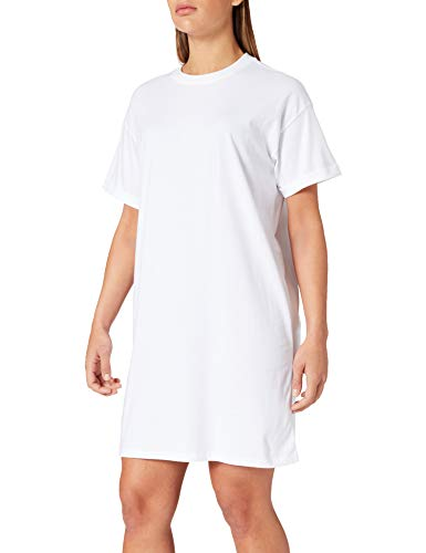 PIECES Damen PCRIA SS Dress NOOS BC Kleid, Bright White, M