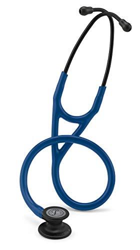 Fonendoscopio 3M™ Littmann® Cardiology IV™ con grabado láser gratuito - Azul Marino Negro mate 6168