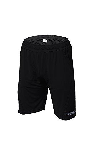 Pacific Pantalones Cortos Unisex de Equipo, Unisex Adulto, T543.23, Black (Sv), XX-Large