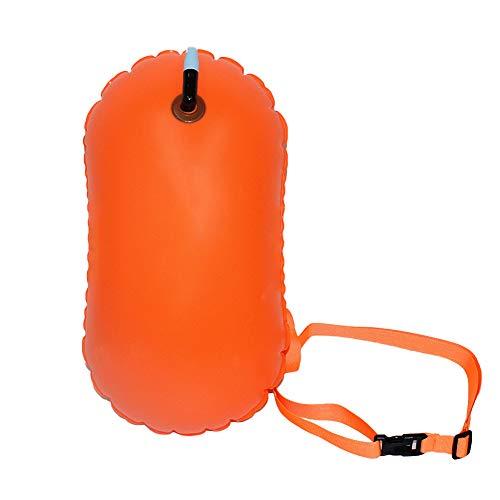 NINIWA Flotador inflable del PVC impermeable de la natación de la remolque del flotador de la flotación de la seguridad de la boya de la natación del flotador