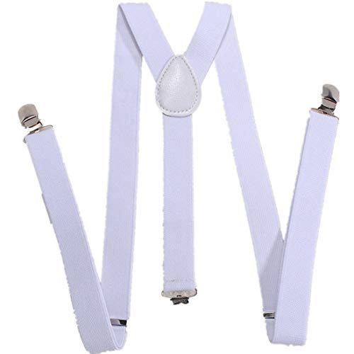 Bretelle Réglable Pantalon Jeans Accessoire Blanc
