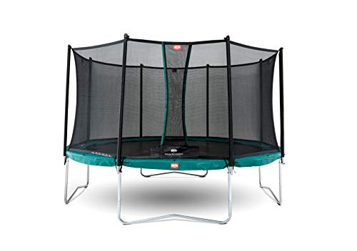 BERG Trampoline Favorit round 330 with Safety Enclosure Net Comfort | Trampoline for kids, Premium Trampoline, Kids trampoline, Longer Lifetime Warrenty, Goldspring Springs