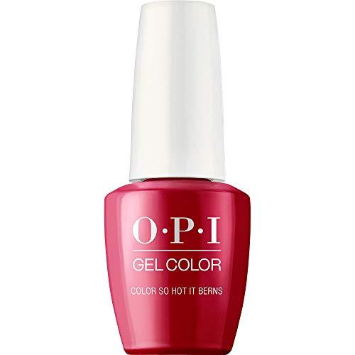 OPI GelColor Esmalte Gel De Uñas (Color So Hot It Berns) - 15 ml.