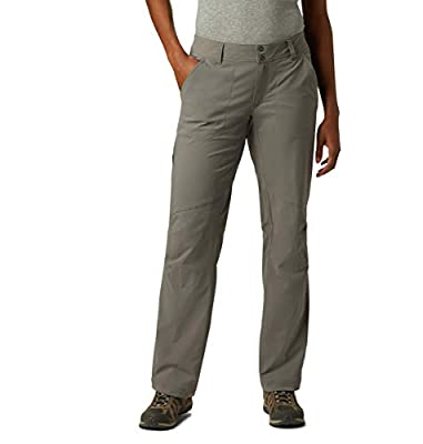 Columbia Women's Saturday Trail Ii Stretch Lined Pant, City Grey, 10 Regular