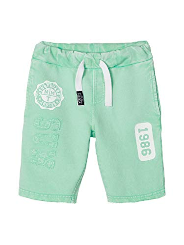 NAME IT Nkmjackal Sweat Shorts UNB Pantalones Cortos, Brote de Primavera, 128 para Niños