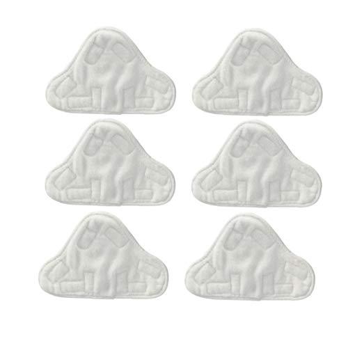 Microfibre Coussinets En Tissu Pour S'adapter Vax Bionaire Efbe-schotte Montiss & Delta À Vapeur Mops (pack De 6)