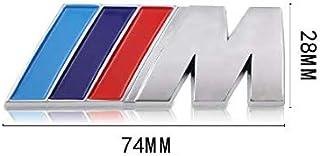 Mundocoche Emblema Adhesivo M para Maletero Compatible para