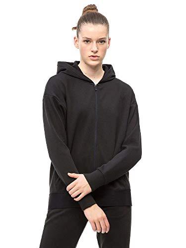 Calvin Klein Damen Sweatjacke schwarz XS