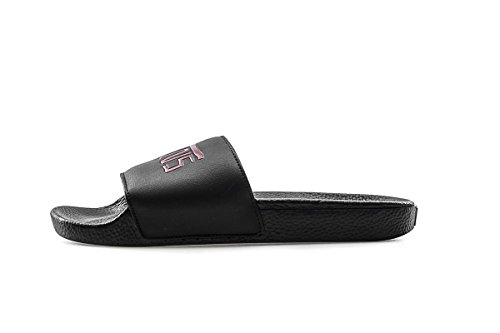 Vans Unisex Dane Reynolds Synthetic Leather Slide Black/Red Size 8