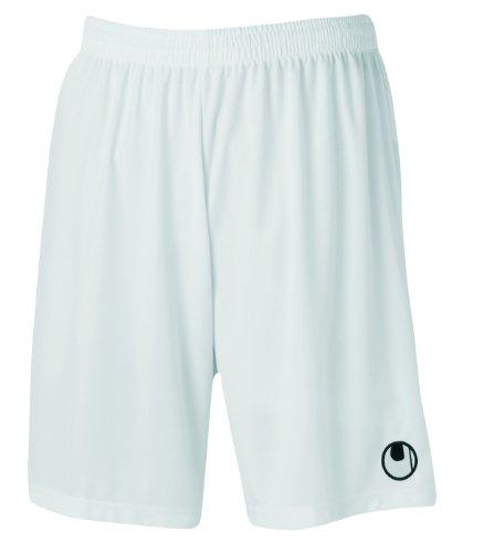 uhlsport Herren Center Basic Ii ohne Innenslip Shorts, Weiss (Weiß), L