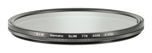 B+W Zirkular Polfilter Slim Käsemann AUCM SL 77 E