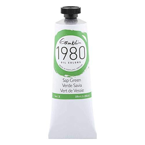 Gamblin 1980 Oil Sap Green 37Ml