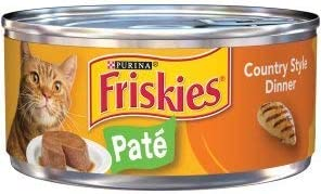 6 Cans of Challenge the lowest price Purina Friskies Wet cat 5.5oz Max 78% OFF Food St Pate ea Country