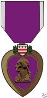 Purple Heart Medal Military Sticker Bumper Sticker Small Tool Box Sticker