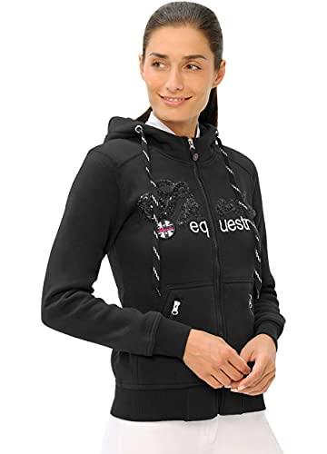 Roxie Sweat Jacket Sequin - DE (Farbe: Black; Größe: S)