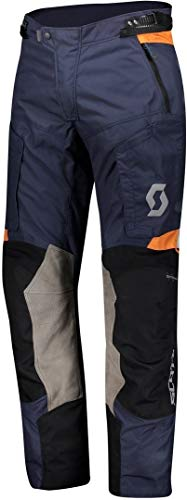 Scott Dualraid Dryo Motorrad Hose blau/grau 2020: Größe: XXXL (58/60)