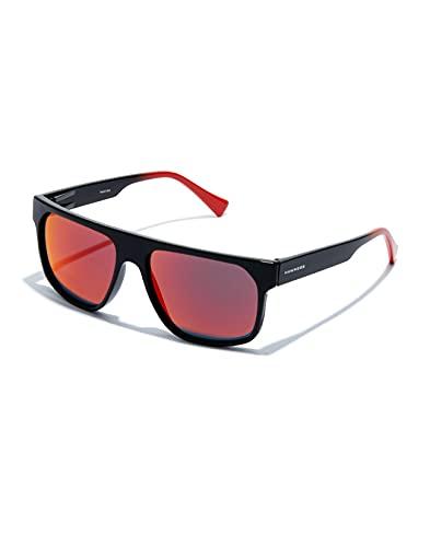 HAWKERS CHEEDO · Gafas de Sol, Diamond Black · Ruby, Talla única Unisex Adulto