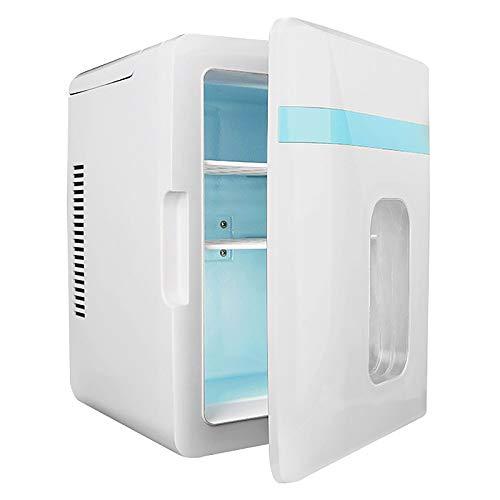 YOULY Mini Congelador Portátil 12L, Mini Refrigerador Congelador de una Sola Puerta para Autos, Viajes por Carretera, Hogar