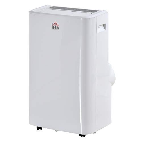 Climatiseur portable réversible froid chaud 12000 BTU/h max. - ventilateur, déshumidificateur - réfrigérant naturel R290 - télécommande - débit d'air 400 m³/h - blanc