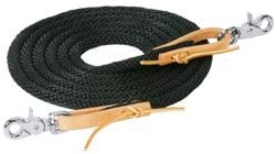 Weaver Leather 35-205 Poly Roper Reins Los Angeles Mall Limited time for free shipping Soft Broken-In with Feel