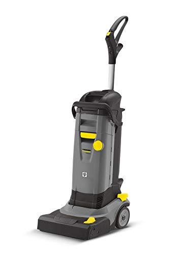 Kärcher Scheuersaugmaschine BR 30/4 C (Flächenleistung: 130 qm/h, Arbeitsbreite für Bürsten und Saugen: 30 cm, Tankvolumen: 2 x 4 Liter, kompakt, 12 kg leicht, Bürstenanpressdruck: 100 g/cm²)