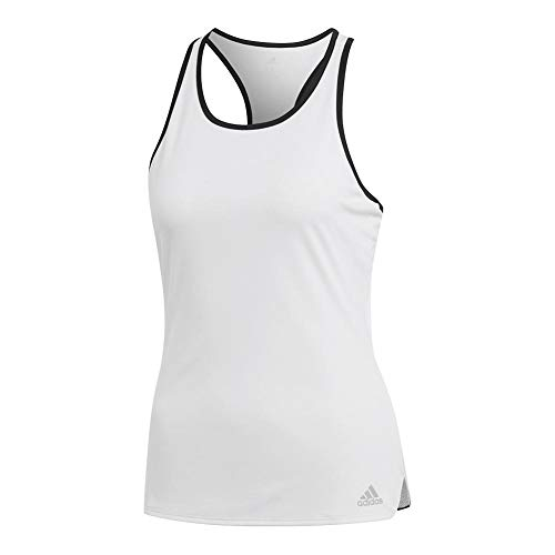 adidas Damen Club Tennis Tank, Damen, Top, Club Tennis Tank, weiß, Large