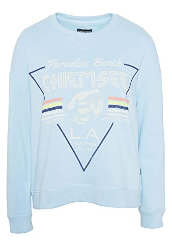 Chiemsee Damen Woman Sweatshirt, Cool Blue, L