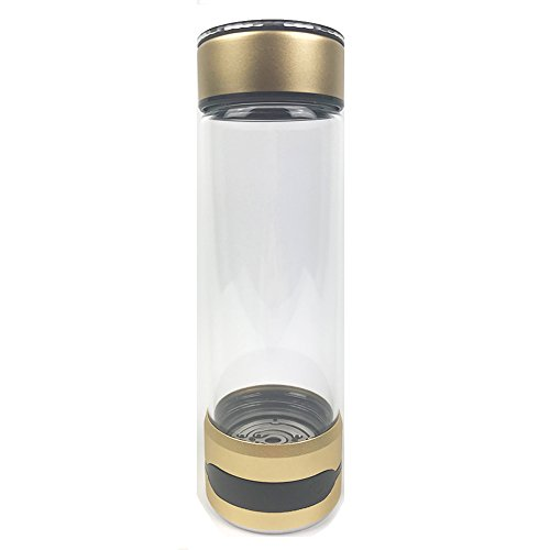 500ml V11 Portable Hydrogen Rich Water Maker Ionizer Generator Water Bottle Glass Cup Fliters Water Tumblers With Gift Box