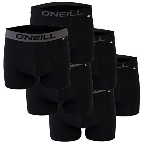 O'Neill Herren Basic Boxer-Short I Black (6969) I XL I im praktischen 6er Pack
