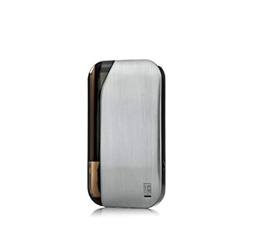 JWell La Carte Electronic Cigarette | E Starter Kit,Ecig Vape POD Built in Rechargeable 400mah Battery No E Liquid, No Nicotine Silver