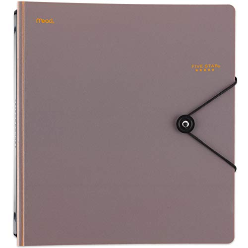 """Five Star D-Ring Binder, 1"""" Expanding Spine, 225 Sheet Capacity, Assorted Colors, Color Selected for You, 1 Count (26246) Photo #2"""
