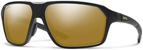 Smith Pathway Sport Sunglasses Matte Black ChromaPop Polarized Bronze Mirror One Size product image