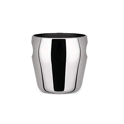 Alessi - 871 - Secchiello per ghiaccio in acciaio inossidabile 18/10 satinato.