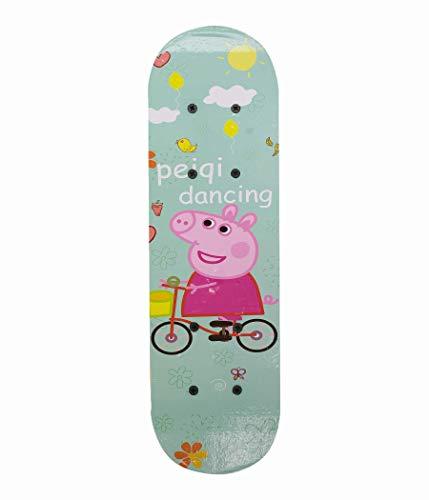 IRIS Wood-Composite Skateboard 45 cm X 13 cm, Small (Multi-Colour)