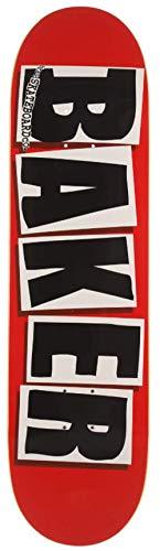 Baker Skateboard Deck O.G. Form, Schwarzes Logo, 8.475