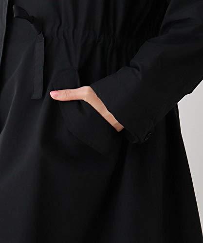 『[ シューラルー ] モッズコート 【M-3L/撥水加工】裏付きロングモッズコード C6299009 レディース カーキ(027) 02(M)』の7枚目の画像