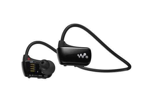 Sony Walkman NWZW273 4 GB Waterproof Sports MP3 Player (Black) (Discontinued by Manufacturer)