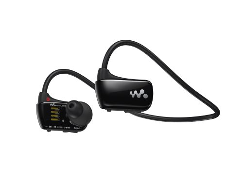 Sony Walkman NWZW273 4 GB Waterproof Sports MP3 Player (Black) (Discontinued by Manufacturer)