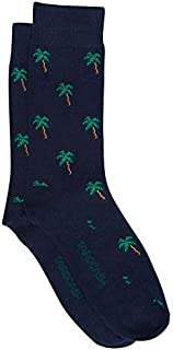 Tarocash Men's Island Life Sock for Going Out Smart Occasionwear Formal