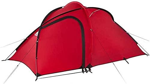Ankon Tiendas de campaña para Acampar La Tienda de campaña para Acampar ultraligeros, Mochila al Aire Libre Impermeable para Senderismo e Impermeable, (220 + 115) 145 120 cm