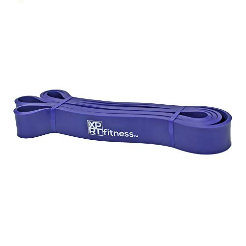 XPRT Fitness Resistance Bands Pull Up Assist Bands Stretching Powerlifting Workout Training - Purple (35-86lb)