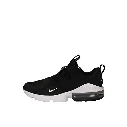 Nike Air MAX Infinity, Zapatillas de Atletismo para Hombre, Multicolor (Black/White 001), 40 EU