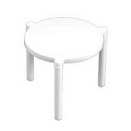 SafePro PZS, 1.5-Inch White Plastic Pizza Stands/Savers/Stax, Take Out Catering Disposable White Pizza Stack (100)