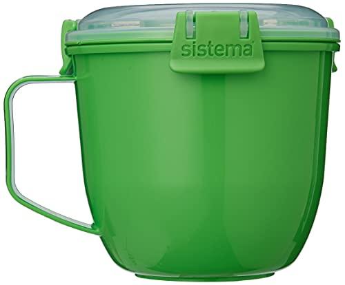 Sistema 21142 Microwave Soup Mug to Go-565 ml, Assorted Colours