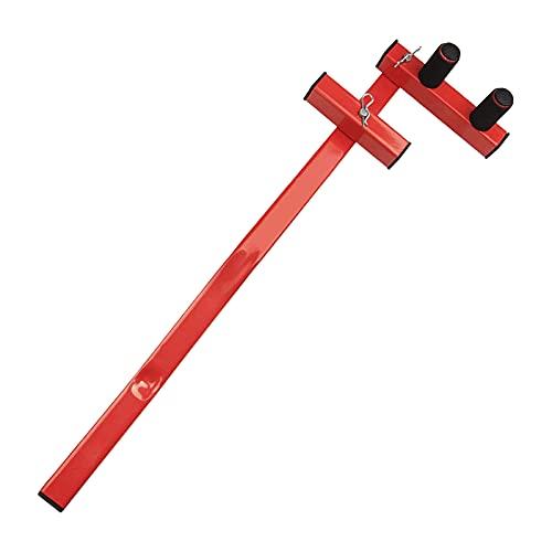 FLAMEER Bowrench de Acero Al Carbono Dobladora de Tablas de Cubierta Dobladora de Herramientas Llave Madera Blanda PT Cedro Cubierta de PVC, Conveniente Rápid