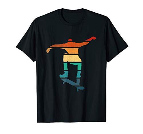 Skateboard Vintage Shape Skater and skateboarding Skate Gift T-Shirt