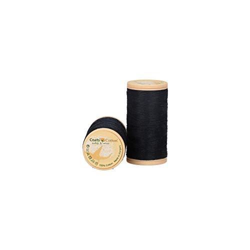 Mez 4661050–09133filo da cucito, Cotone, nero