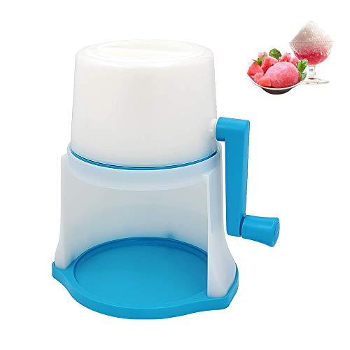 ZRXRY Eiscrusher Ice Crusher Maschine, Klapp- und einfache Lagerung Schnee-Kegel-Maschine und rasierte Eismaschine Perfekt für Slushie, Snowcones und alle Iced Treats
