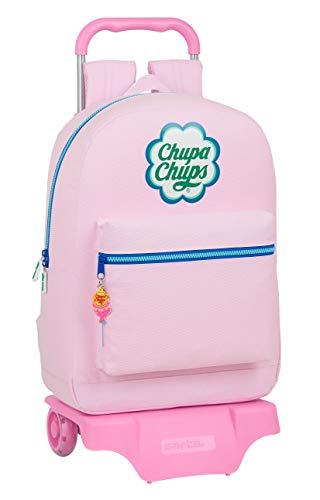 Chupa Chups Mochila Safta Escolar Grande con Carro Safta 905, 320x140x430mm
