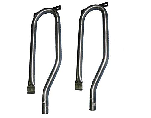 Grill Burner for Select Kenmore 141.16322, Kitchen Aid 730-0891R, Nexgrill 720-0812A Gas Grill Models - 2 Pack
